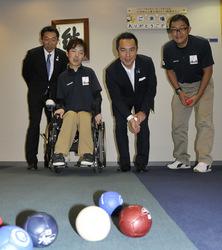 ボッチャ国際大会、国内初伊勢で開催へ 障害者スポーツ