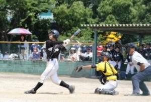 中学野球備前西地区大会が開幕 岡山県大会出場懸け熱戦