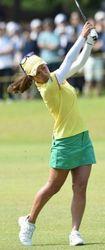 宮里藍、通算1アンダー33位 サントリー女子ゴルフ3R