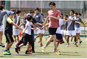 岩井勇輝さん、走り方教室開催 元陸上男子1万日本代表