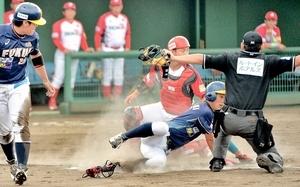福井、先発全員安打で3連勝 野球BCリーグ