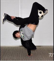 フリースタイルフットボール、日本一の久保宇史さん