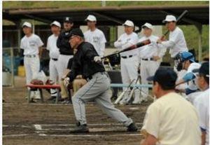 はつらつ元高校球児 兵庫グランドOB野球大会