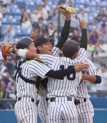 立大59年ぶり優勝 野球大学選手権