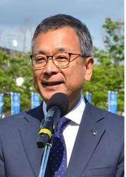 J3秋田 村井チェアマンに聞く スタジアム整備「将来見据えた議論に」