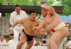 大学相撲 新温泉町出身、日大4年の片村敬也