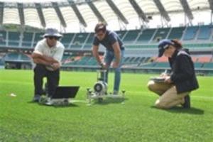 ラグビー エコパの芝検査「国際基準に適合」 アイルランド戦