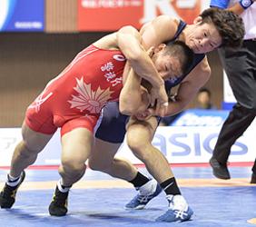 川瀬が準V、男子グレコ66キロ級レ スリング全日本選抜