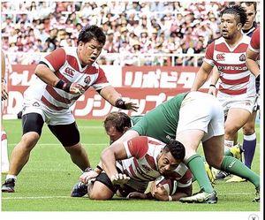 リベンジ誓う、伊藤とヘル(ヤマハ発) ラグビー代表戦