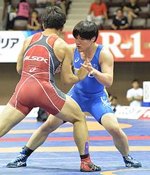 宮古商高出・沢田が3位 レスリング全日本選抜