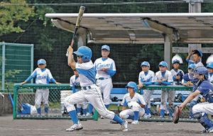 中条大勝、連覇 全日本学童野球石川県大会