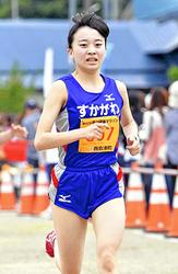 高校・一般女子、鈴木涙の2年連続優勝 奥川健康マラソン