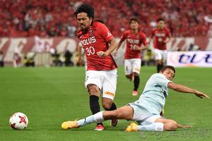 J1浦和、磐田に2-4 2連敗で8位に後退