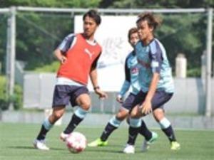 サッカー 山田大記、J1磐田で練習 来季も欧州でプレー