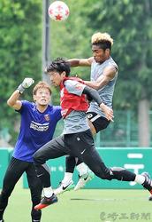 J1浦和 天皇杯 21日盛岡戦へ実戦調整