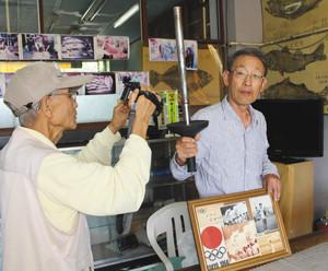 東京五輪聖火 53年越し縁つなぐ
