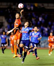 愛媛FC逆転勝ち、後半41分有田決勝G