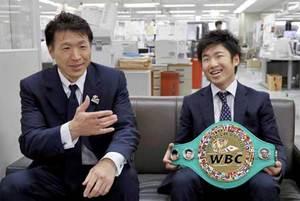 ボクシング王者、拳四朗「勝ち続けたい」