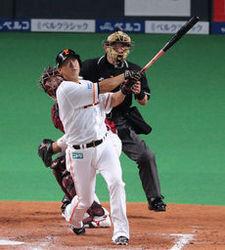 日ハム・中田、2本塁打で快勝 日ハム7―3楽天
