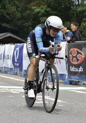 上野4位、工藤6位 自転車全日本ロード開幕