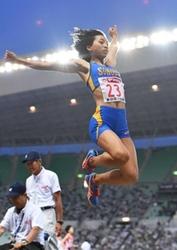 女子走り幅跳び、高良23年ぶり高校生女王 陸上日本選手権