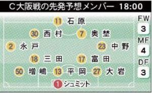 J1仙台、25日ホームC大阪戦