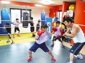 羽ばたけジュニアボクサー 小中生が9割、入江ジム