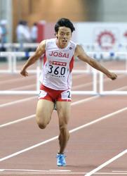 渡部佳朗、男子400障害で7位 陸上日本選手権