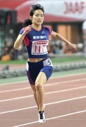 東邦銀行・武石が女子400で不満残る2位 陸上日本選手権