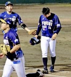 野球BCリーグ福井、後期初戦敗れる  滋賀に1―3