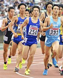男子1500・遠藤日向は2位...「悔しい」 陸上・日本選手権