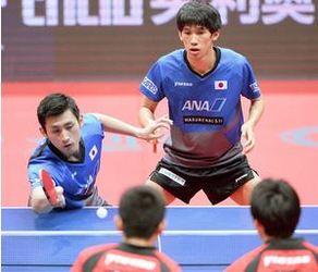 吉村・上田組が頂点 卓球・中国OP