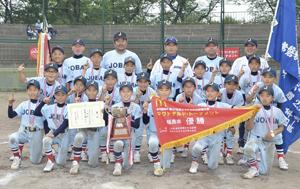 常磐スポ少が制す、全国大会へ 学童軟式野球福島大会