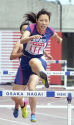 東邦銀行・青木が女子400障害で優勝 日本陸上選手権