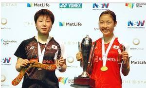 山口茜、奥原希望に敗れ準優勝 バド・オーストラリアOP