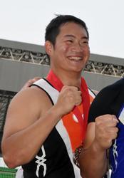 円盤投げ、福岡高出・米沢が2年ぶり準V 陸上日本選手権