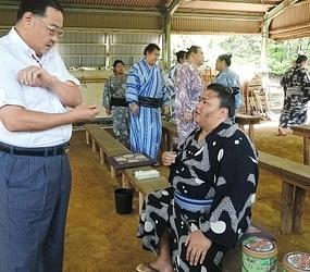 御嶽海が大相撲・新関脇 長野県出身、高登以来84年ぶり