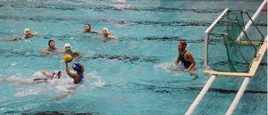 水球 日本代表の女子が練習試合公開 野幌総合運動公園