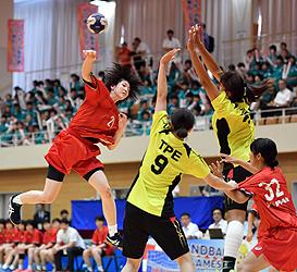 ハンドボール 日本女子、台湾に快勝 花巻で東アジアU-22開幕