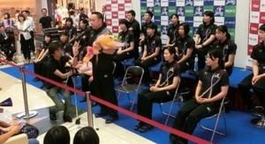 バレー 佐賀市で全日本5連覇報告 久光製薬