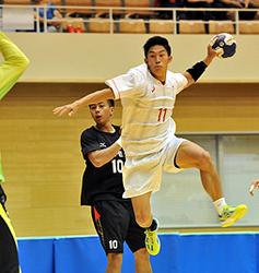 ハンドボール 日本男子、白星発進 花巻で東アジアU-22