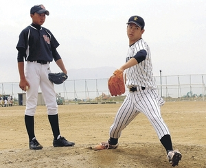 大学野球 日本一の立大 陸前高田市で野球教室開催