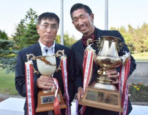 ゴルフ 坂本優勝、シニアは前道が優勝 道東オープン