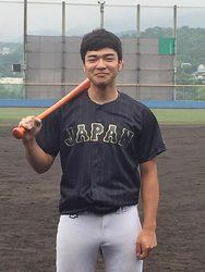 森中(米子市出身)野球日本代表 7月1日から国際試合