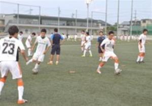 サッカー SBS杯 候補選手がアピール 静岡ユース選考会