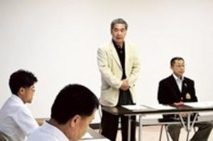 陸上 静岡県市町駅伝 下田市チームの練習会