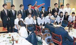 10月に世界トランポリン壮行会 金沢学院北國クラブ後援会