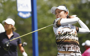 ゴルフ 宮里藍は暫定61位 全米女子プロ初日