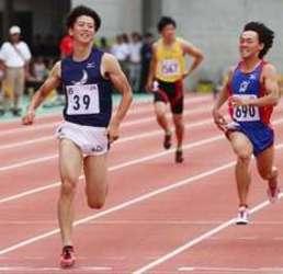 西日本学生対校陸上 100m多田、追い風参考10秒16
