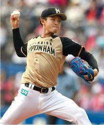 日ハム・上沢、2年ぶり勝利